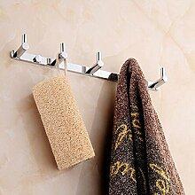 Alle Kupferhaken Badezimmer Accessoires Kleiderhaken Handtuchhalter Handtuchhalter Reihen Von Haken (2 Satz)