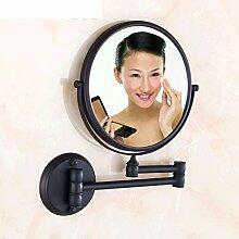 Alle Kupferspiegel/Schönheits-Spiegel/Rotierende Klappspiegel/Spiegel/Sided Badezimmerspiegel dreifache Verstärkung