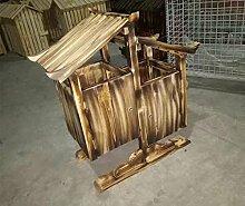 Alle Wooden Antiseptic Wooden Scenic Bereich Retro Trash Kabine Outdoor Große Obst Box Kategorien Mülleimer