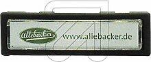 Allebacker 10er Pack Klingeltaster anthrazit