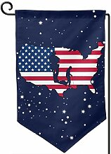 AllenPrint Banner Flag,Amerikanische Flagge