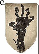 AllenPrint Family Flag,Halloween Teufel Hand