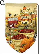 AllenPrint Flag Banner,Happy Thanksgiving Herbst