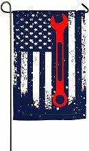 AllenPrint Flag Banner,Mechaniker Amerikanische