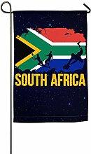 AllenPrint Home Garden Flag,Südafrikanische