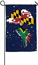 AllenPrint Outdoor Seasonal Flag,Maryland Flag