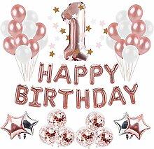 Alles Gute zum Geburtstag Helium Ballo Brief