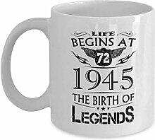 Alles Gute zum Geburtstag Tassen - Das Leben
