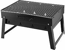 ALLESCOOL Holzkohlegrill BBQ Portable Smoker