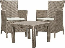 Allibert 219990 Lounge Set Rosario Balcony 2x