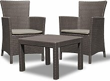 Allibert 219991 Lounge Set Rosario Balcony 2x