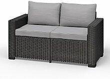 Allibert California 2-Sitzer Couch Polyrattan