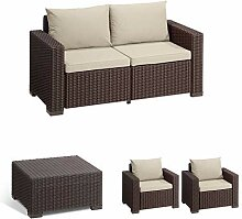 Allibert Lounge Sofa California 2-Sitzer,