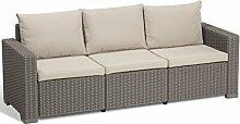 Allibert Lounge Sofa California 3-Sitzer,