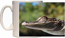 Alligator 10fl oz tasse en céramique Motif