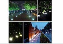 ALLKing®4Stück 8er LED Solar Leuchte außen