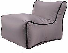 ALLOMN Aufblasbares Sofa, Schwimmbarer Lounger