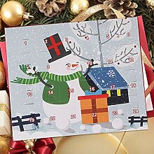 Allowevt Weihnachten Adventskalender Box, 24