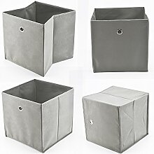 Allright 4 Stück Faltbox Faltbare