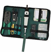 AllRight 9 in 1 Netzwerk Werkzeug Set Elektronik
