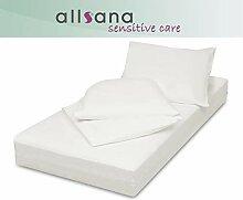 allsana Encasing Set: 90x200x16/135x200/40x80cm,