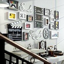 Alltagshaus Retro Holzwand Bilderrahmen Mit WPC