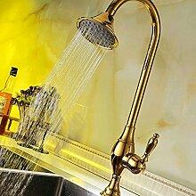 AllureFeng Gold Küchenarmatur, Küchenarmatur,