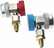 Allwway R134A-Stecker-Adapter-Set Schnellkupplung