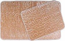 Almina | 2-Teilige Badgarnitur | Waschbare