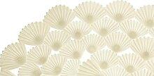 Almina | Badgarnitur | Badematte | Shell |%100 PVC
