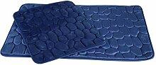 Almina Badgarnitur Set 2-tlg Premium Midi Renk Mavi