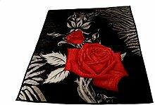 Almina Wolldecke Rose für 2 Personen 200cm x 240cm