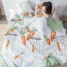 Almondcy bettdecke übergröße,Home Textile Seide