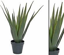 Aloe Vera künstliche Pflanze, mit 18 Kunststoff