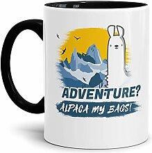 Alpaka-Tasse Alpaca My Bags Adventure - Innen &