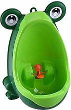 ALPHA DIMA Nette Froschform Kinder Urinal