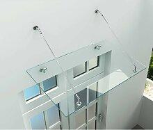 Alphabad - Glas-Vordach 180 x 90 cm