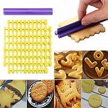 Alphabet Zahlenbuchstaben Kuchen Form - DIY