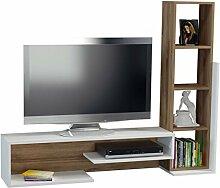 Alphamoebel TV Board Lowboard Fernsehtisch