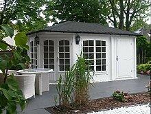 Alpholz 5-Eck Gartenhaus Modell Josephine-40 mit