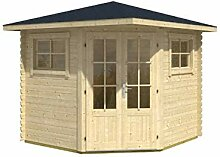 Alpholz 5 Eck Gartenhaus Sunny-B - Design Garten