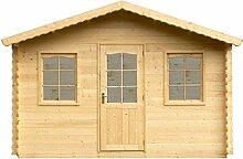 Alpholz Gartenhaus DIEST aus Fichten-Holz |
