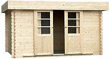 Alpholz Gartenhaus EUPEN aus Fichten-Holz |