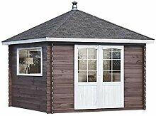 Alpholz Gartenhaus Spa aus Fichten-Holz |