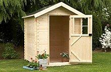 Alpholz Gartenhaus Toby Lütt aus Fichten-Holz  