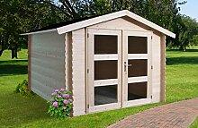 Alpholz Gerätehaus Holz mit Boden 225 x 210cm |