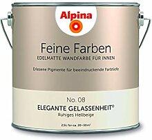 Alpina 2,5 L. Feine Farben, Farbwahl, Edelmatte