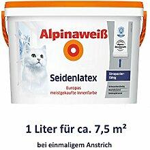 ALPINA Alpinaweiß Seidenlatex 1 Liter