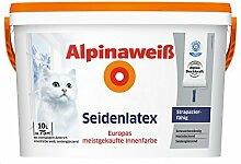 ALPINA Alpinaweiß Seidenlatex 10 Liter