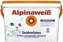 ALPINA Alpinaweiß Seidenlatex, Wandfarbe